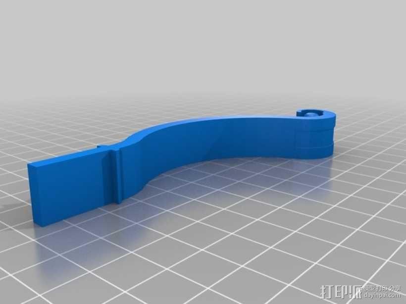 迷你弓箭 3D模型  图2