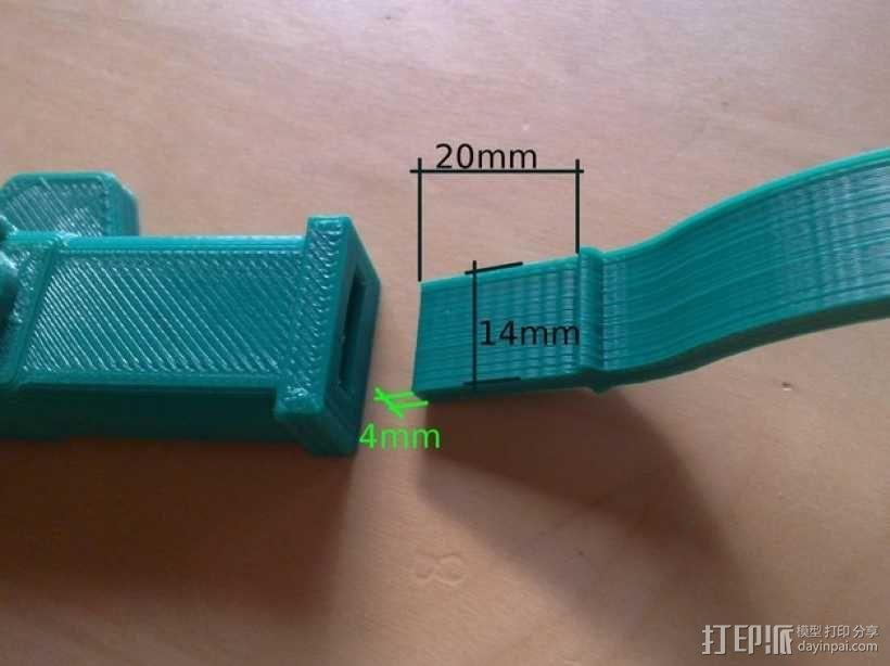 迷你弓箭 3D模型  图6