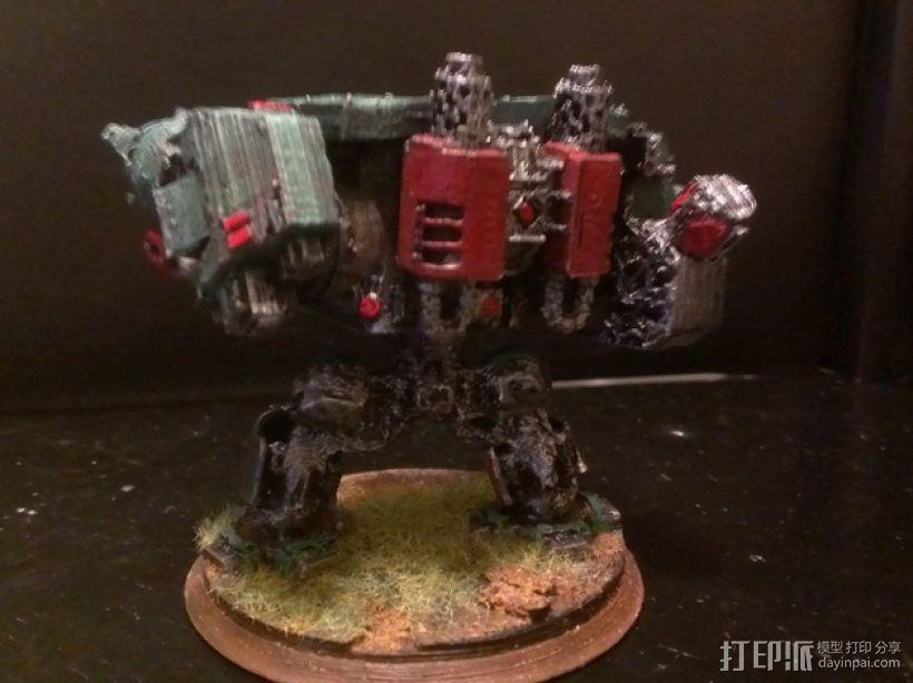 《无畏战舰》机器人 3D模型  图4