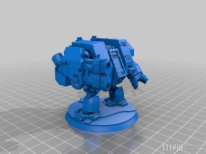《无畏战舰》机器人 3D模型  图6