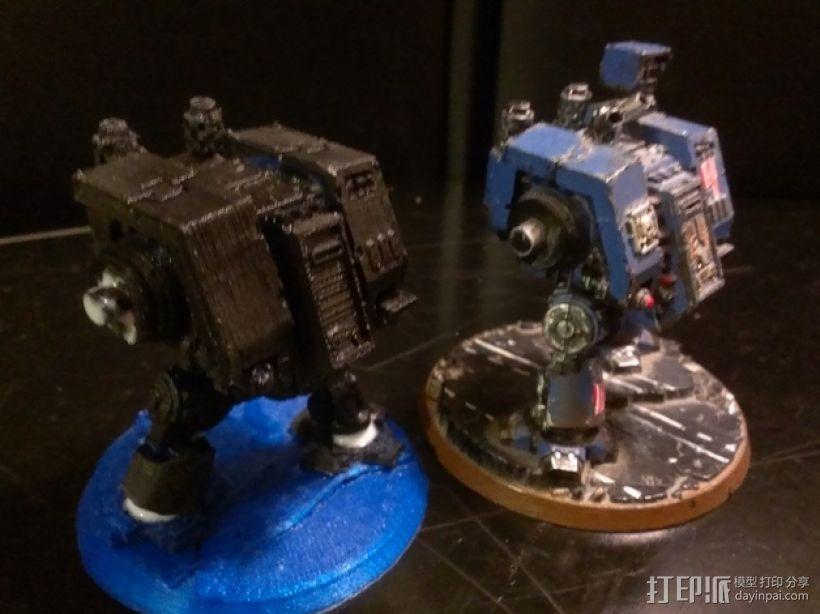 《无畏战舰》机器人 3D模型  图10
