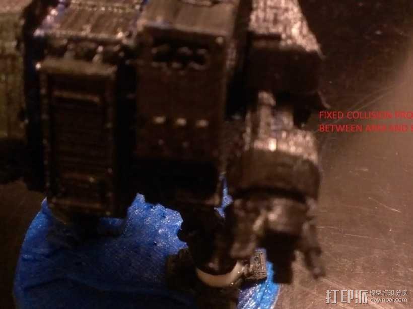 《无畏战舰》机器人 3D模型  图15