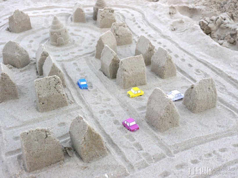 砂质房屋模具 3D模型  图1