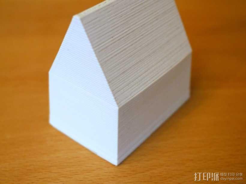 砂质房屋模具 3D模型  图3
