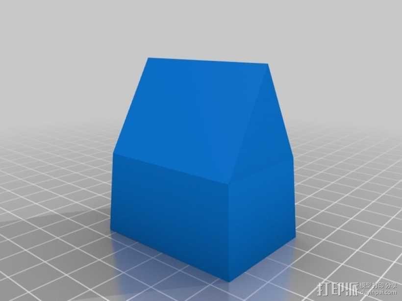 砂质房屋模具 3D模型  图2