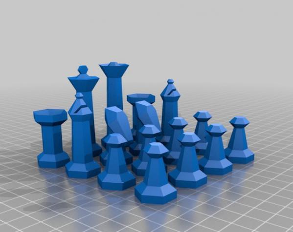 参数化象棋 3D模型  图2