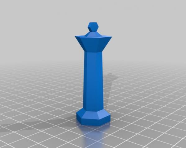 参数化象棋 3D模型  图3