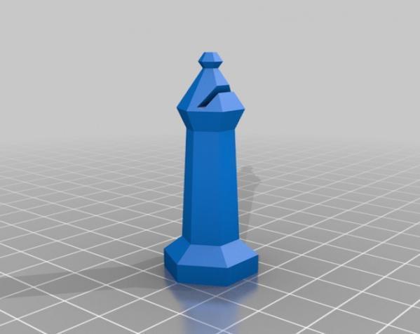 参数化象棋 3D模型  图5