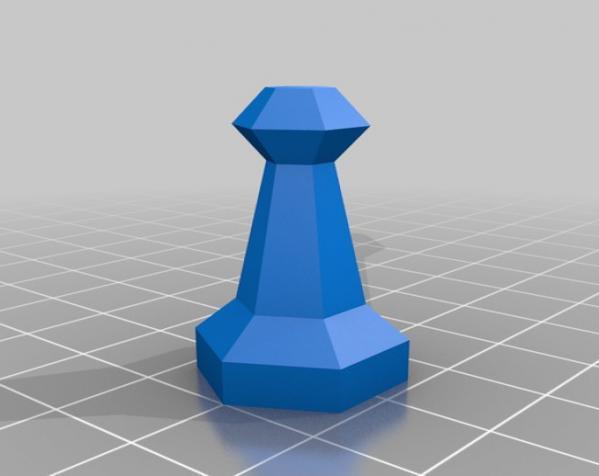 参数化象棋 3D模型  图8