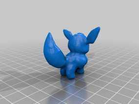 伊布 3D模型