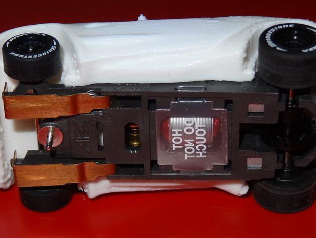 槽轨车 3D模型  图3