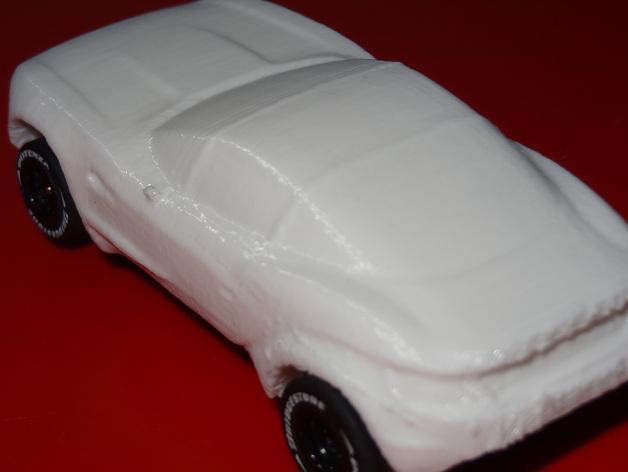 槽轨车 3D模型  图2