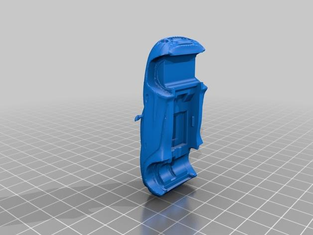 槽轨车 3D模型  图4