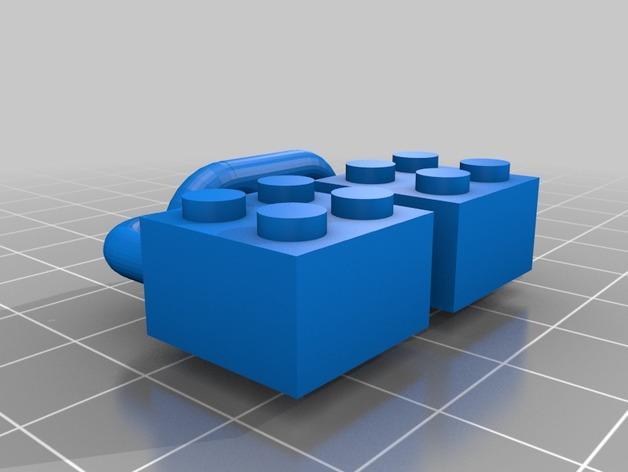 乐高锁链 3D模型  图3