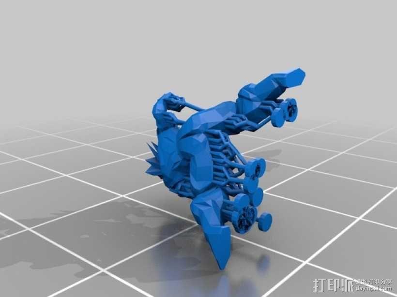 七龙珠孙悟空 3D模型  图2