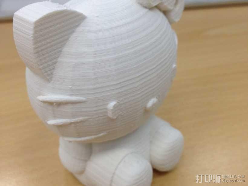 凯蒂猫 3D模型  图3