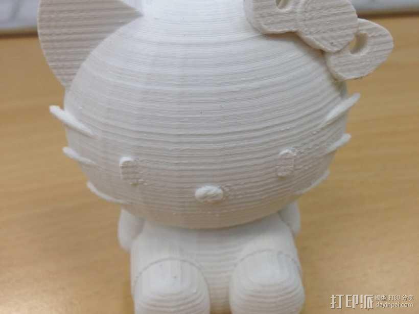 凯蒂猫 3D模型  图4