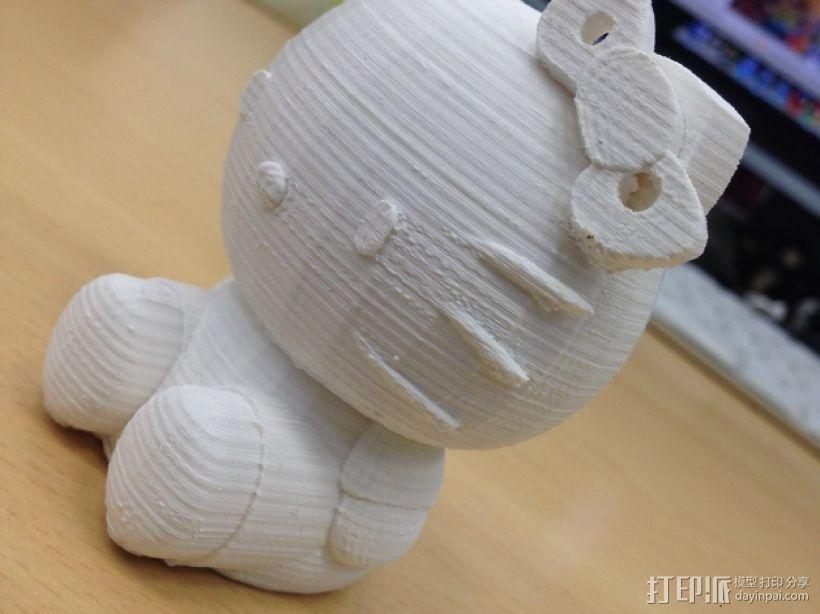 凯蒂猫 3D模型  图6