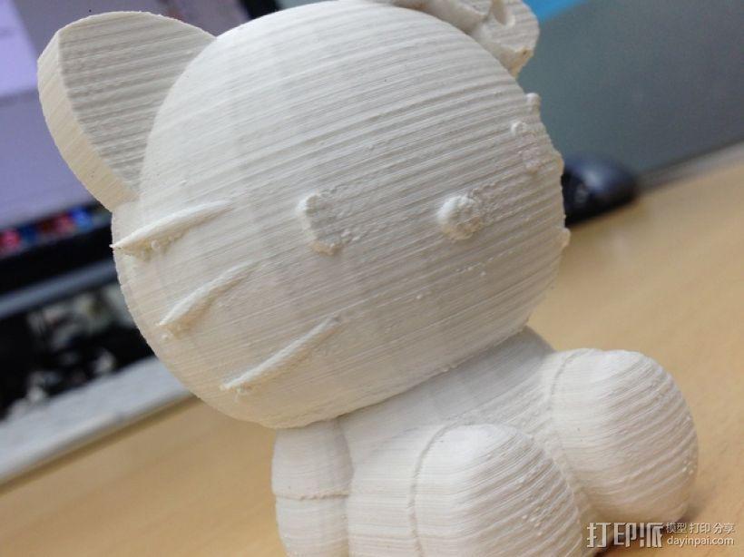 凯蒂猫 3D模型  图7
