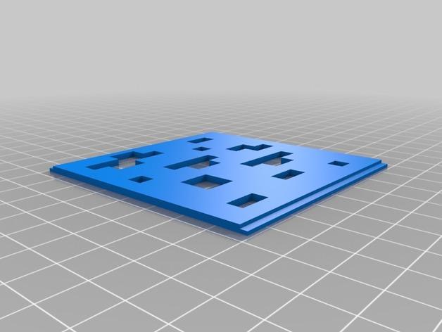 镂空立方体 3D模型  图6