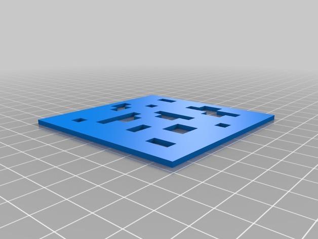 镂空立方体 3D模型  图8