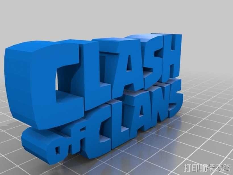 《部落战争》中蛮族首领 3D模型  图3