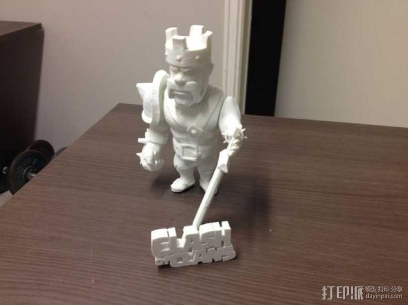 《部落战争》中蛮族首领 3D模型  图7
