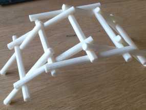 自立桥 3D模型