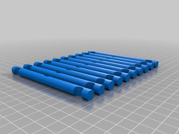 自立桥 3D模型  图2
