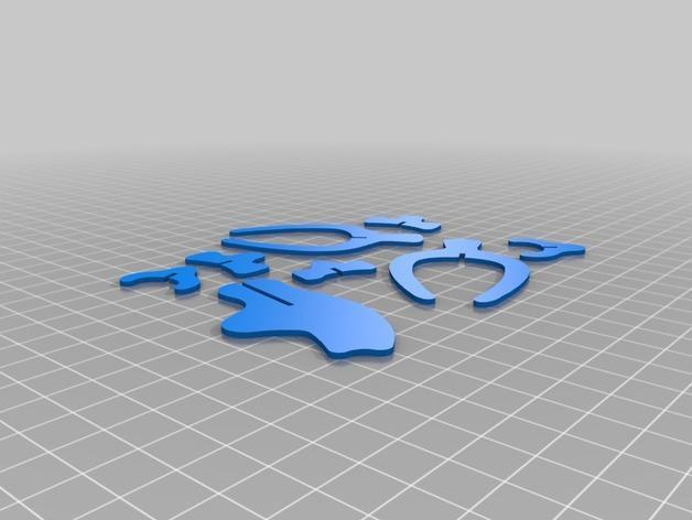 迅猛龙 3D模型  图2