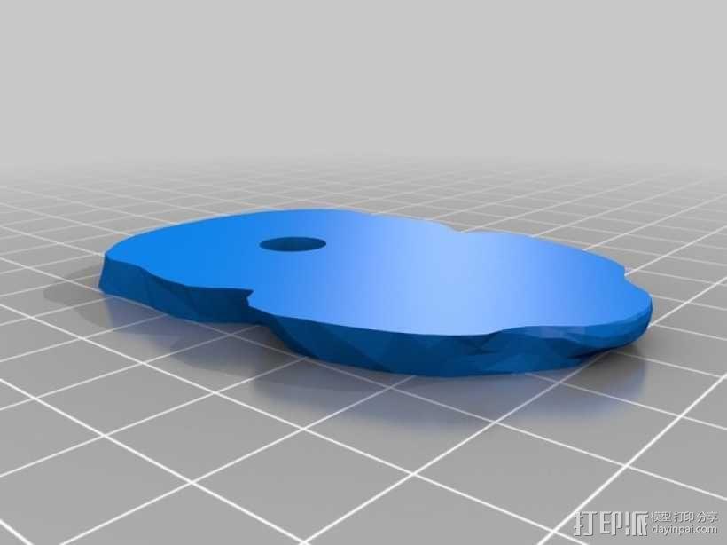 旋转人像 3D模型  图21
