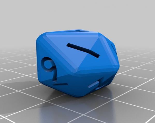 多面体骰子 3D模型  图4