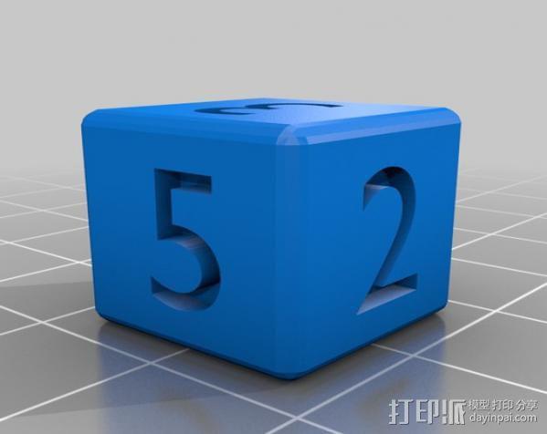 多面体骰子 3D模型  图2