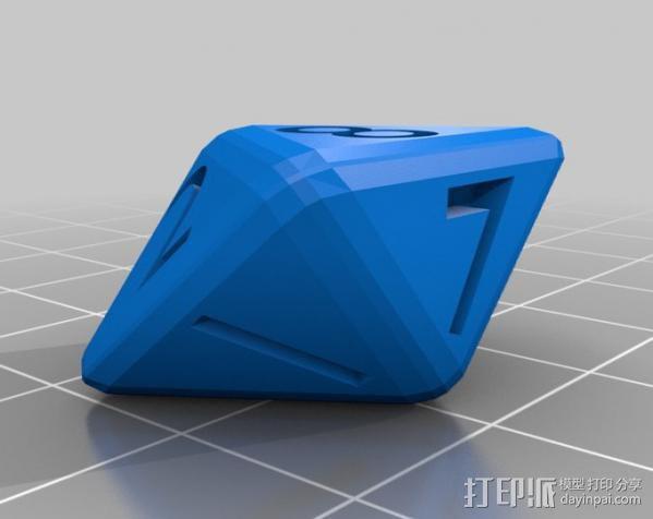 多面体骰子 3D模型  图3