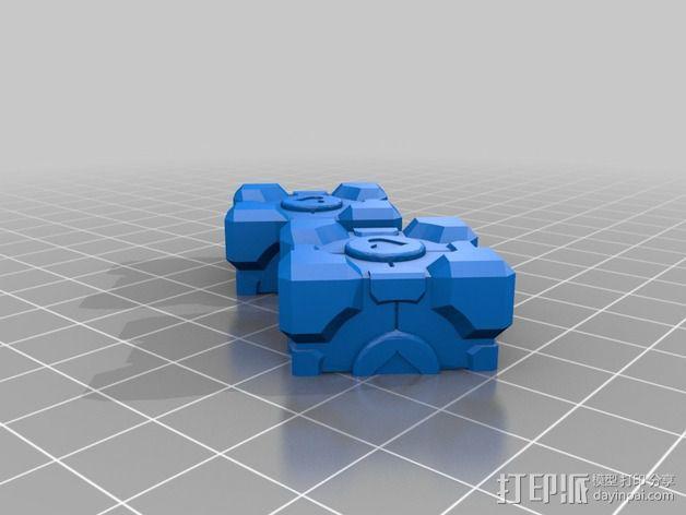 超重量级二阶魔方 3D模型  图5