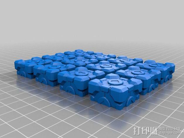 超重量级二阶魔方 3D模型  图8