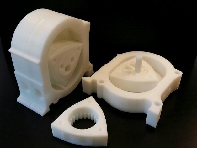 马自达转子发动机 3D模型  图3
