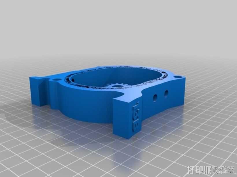 马自达转子发动机 3D模型  图4