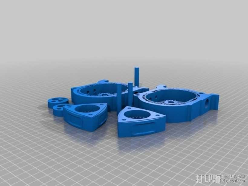 马自达转子发动机 3D模型  图12