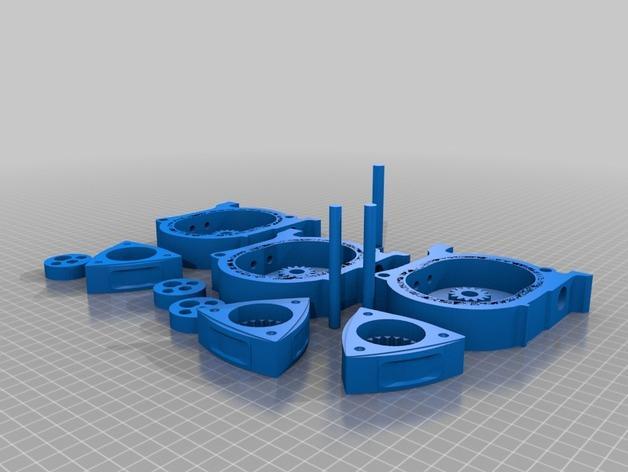 马自达转子发动机 3D模型  图13