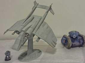 Valkyrja战舰 3D模型