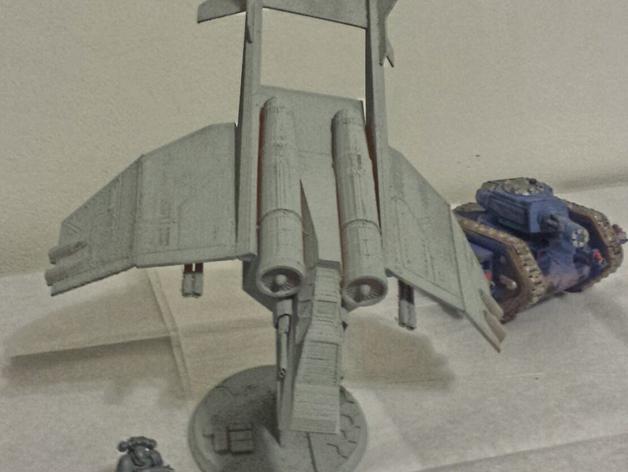 Valkyrja战舰 3D模型  图2