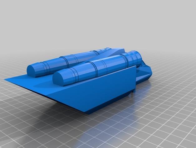 Valkyrja战舰 3D模型  图13