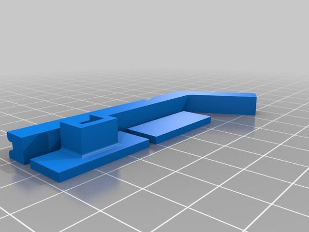 十字弓V1 3D模型  图2