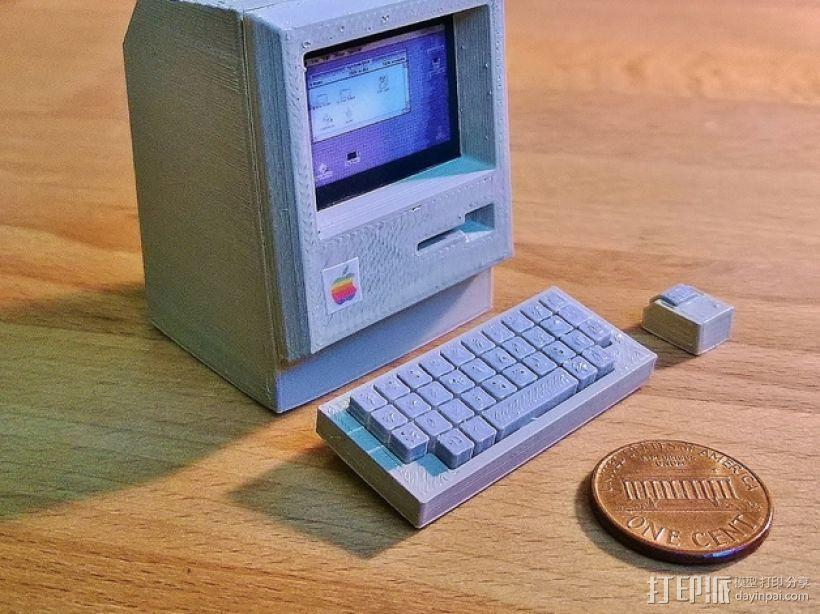 迷你苹果电脑 3D模型  图1