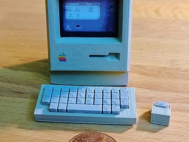 迷你苹果电脑 3D模型  图2