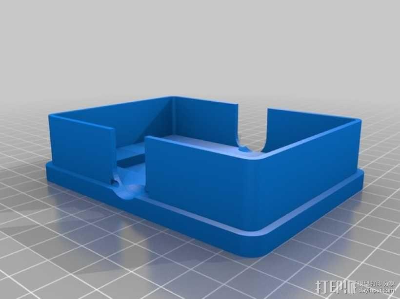 卡片收纳盒 3D模型  图2