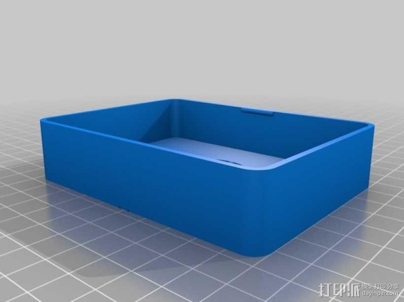 卡片收纳盒 3D模型  图3