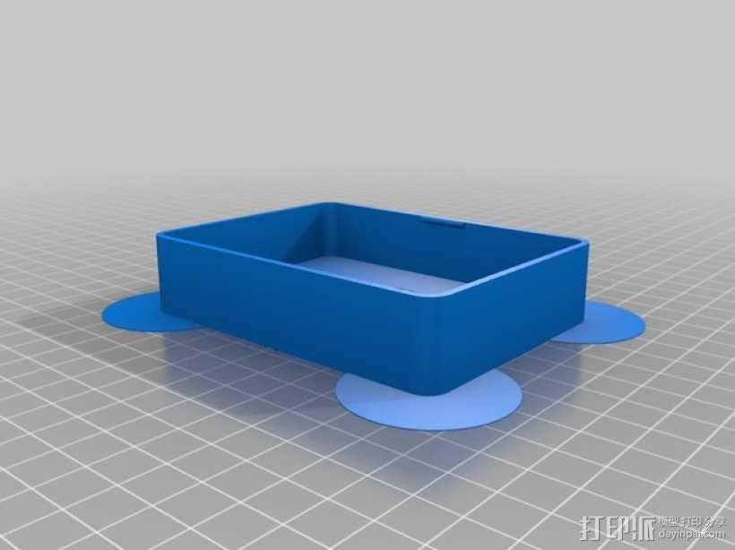 卡片收纳盒 3D模型  图5