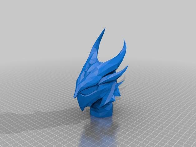 迪德拉半身像 3D模型  图3